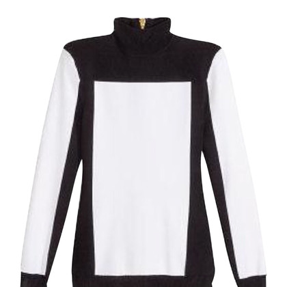 Balmain X H&M black and white vest