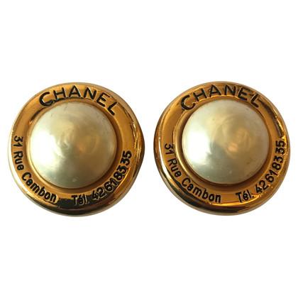 Chanel CHANEL Clips Pearl / Rue Cambon 31