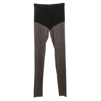 Marc Cain Suede leather look leggings