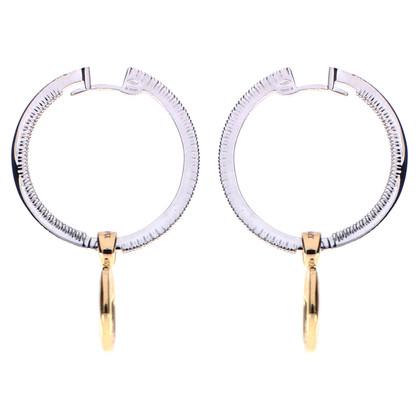 Damiani Boucles d'oreilles en or avec diamants