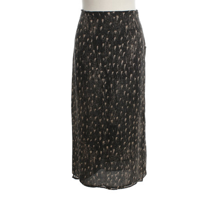 Max Mara Silk skirt with pattern