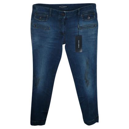 Dolce & Gabbana Skinny jeans in dark blue