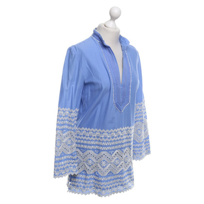 Tory Burch Tunique en bleu