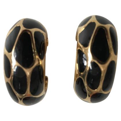 Christian Dior Clip Earrings Interesting Desing
