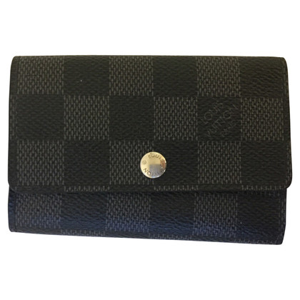 Louis Vuitton key holder from Damier Graphite Canvas