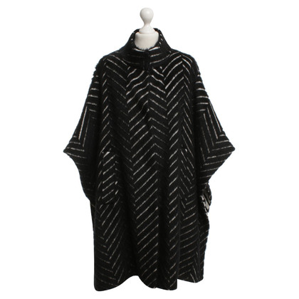 Marina Rinaldi Velcro Cape with pattern