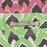 Roberto Cavalli Kurze Shorts mit buntem Muster