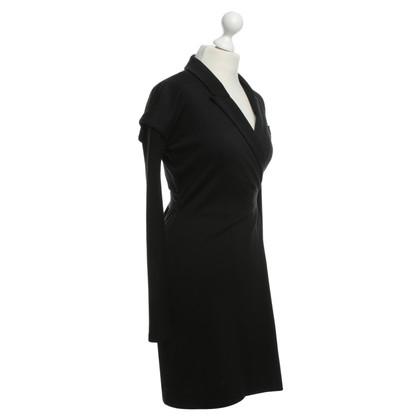 Diane von Furstenberg Jurk wrap zwart