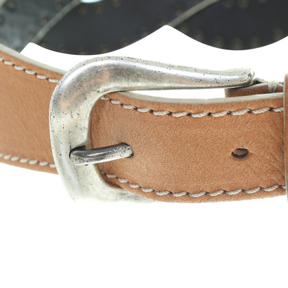 Reptile's House Brown leather belt