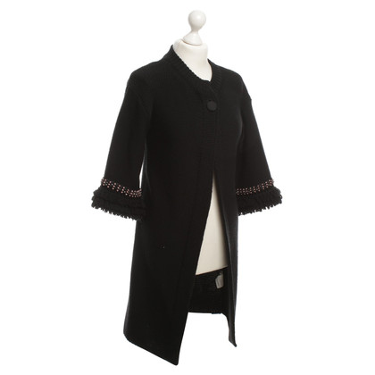 Red Valentino Wool Cardigan with beading