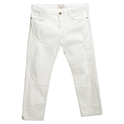 Current Elliott Jeans in bianco
