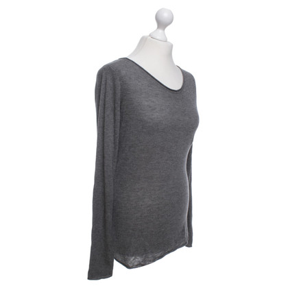 T by Alexander Wang Strickpullover in Grau