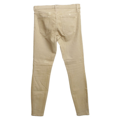 Current Elliott Skinny-Jeans in Beige