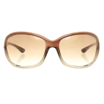 Tom Ford Zonnebril in Taupe
