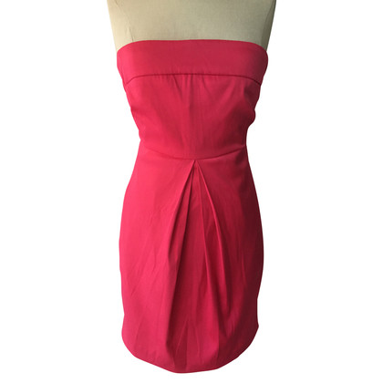 Gestuz Strapless dress in pink