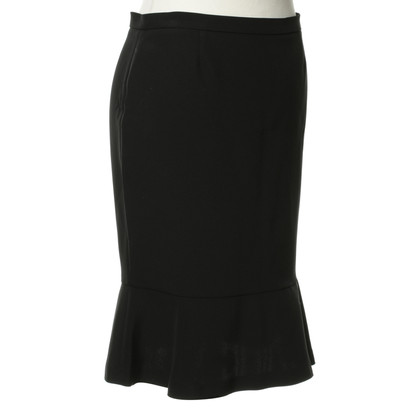 D&G Black skirt with valance