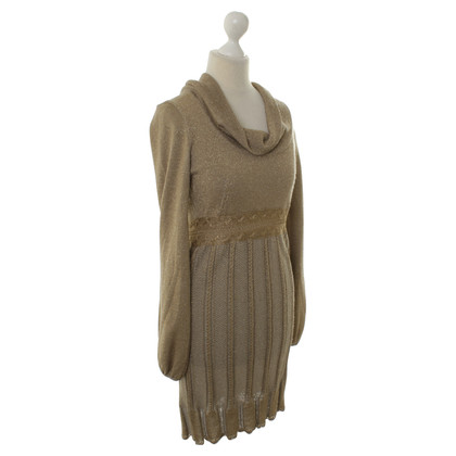 Valentino Knit dress in gold