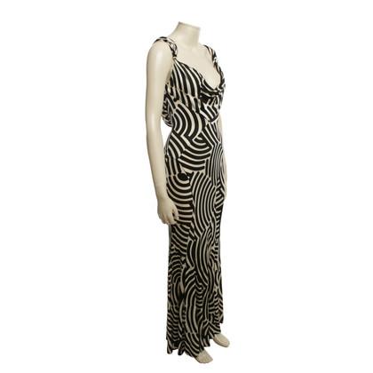 Diane von Furstenberg Gestreiftes Maxi-Kleid