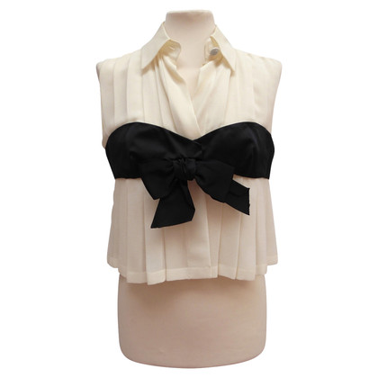 Chanel Silk blouse with bandeau