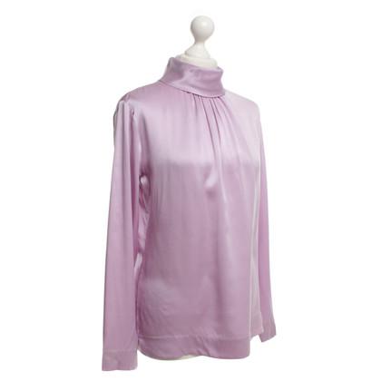 Van Laack Zijden blouse in paars