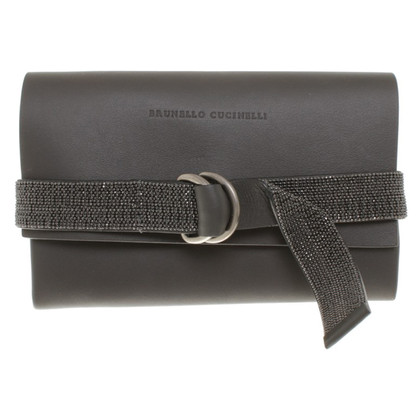 Brunello Cucinelli Wallet in grey