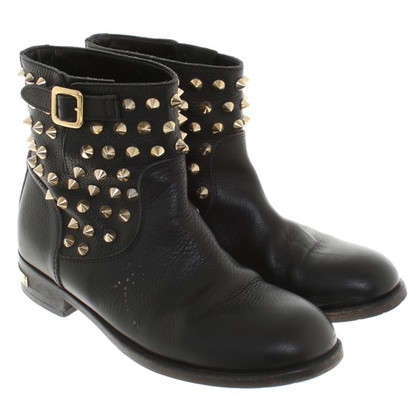 Philipp Plein Ankle boots in black