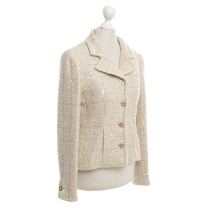 Chanel Blazers in beige