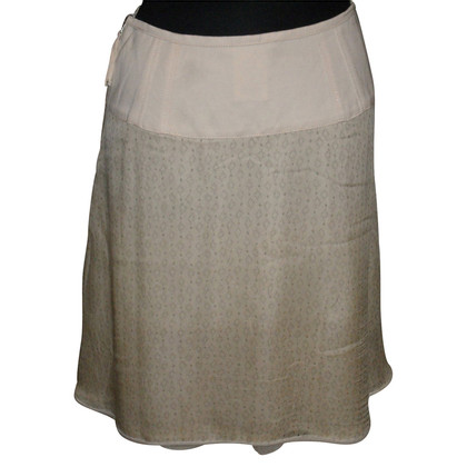 Marc Cain skirt silk/linen
