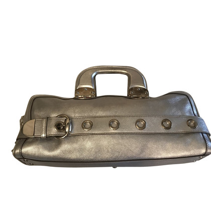 Gucci Gucci handbag in silver leather