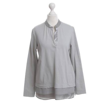 Van Laack top in light grey
