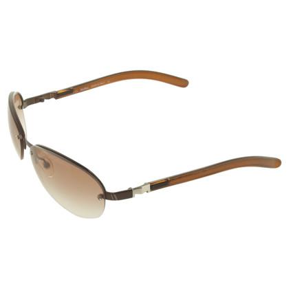 Max Mara Sonnenbrille in Braun