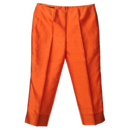 Escada Piega pantaloni in arancione