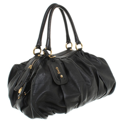 D&G Leather handbag in black