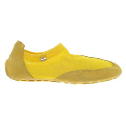 Bogner Slipper in yellow