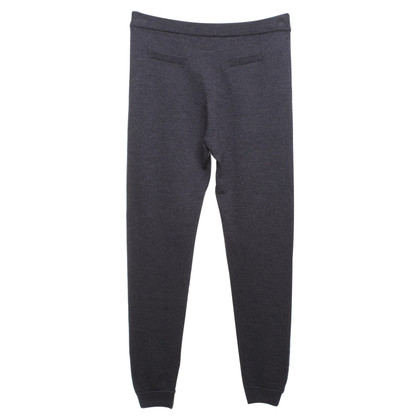 Dear Cashmere Knitted trousers in blue-grey