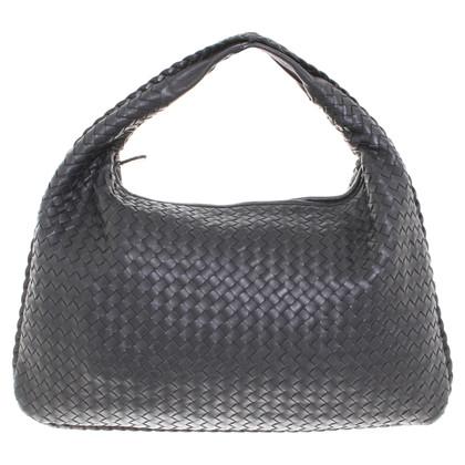 """Bottega Veneta """"Veneta Bag Large"""" in black"""