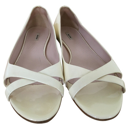 Miu Miu Patent leather sandals
