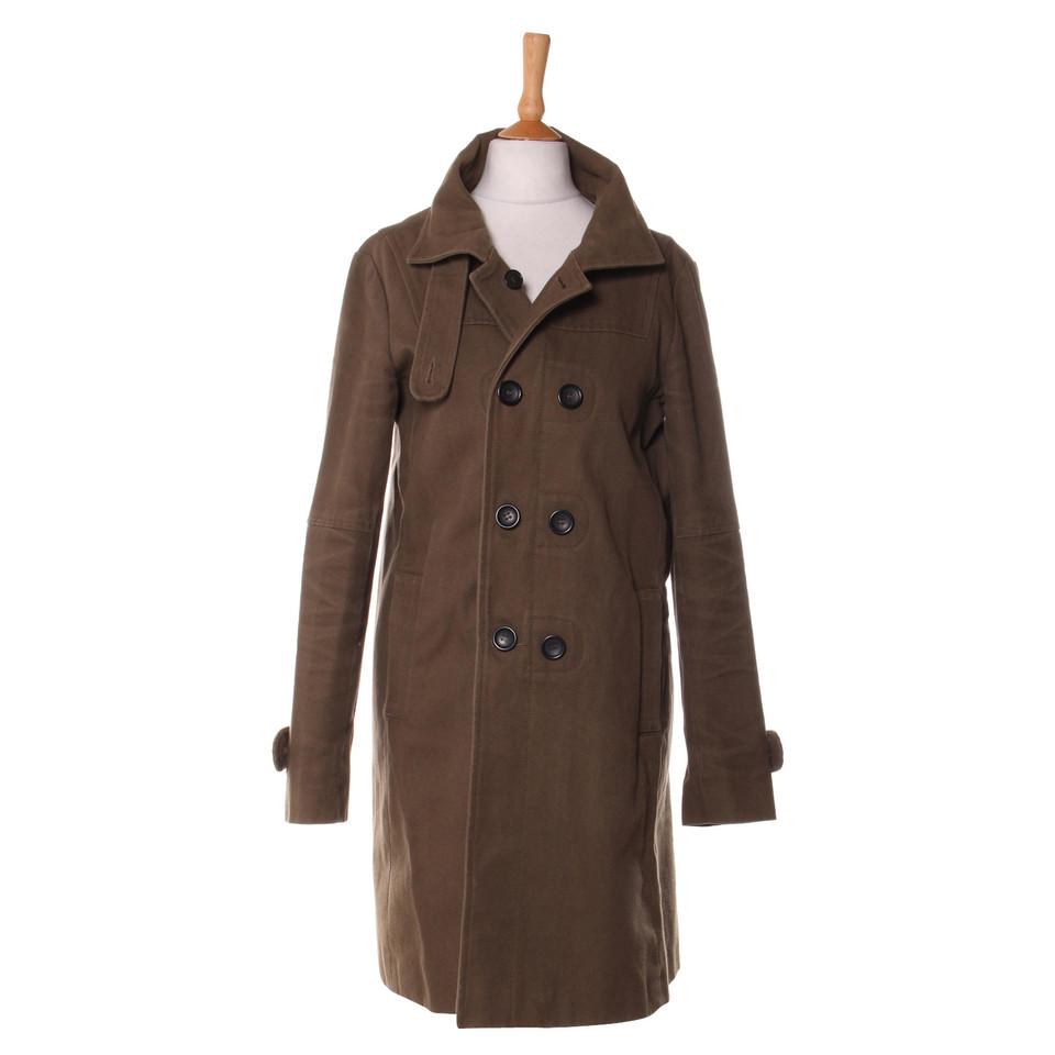 Comptoir des cotonniers veste manteau comptoir des - Manteau bi matiere comptoir des cotonniers ...