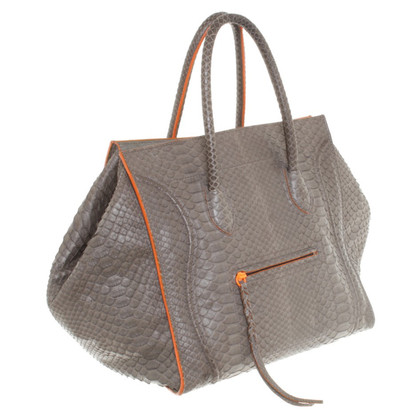 """Céline """"Luggage Phantom Bag"""" aus Pythonleder"""