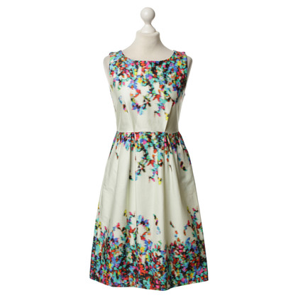 Tara Jarmon Colorful print cocktail dress
