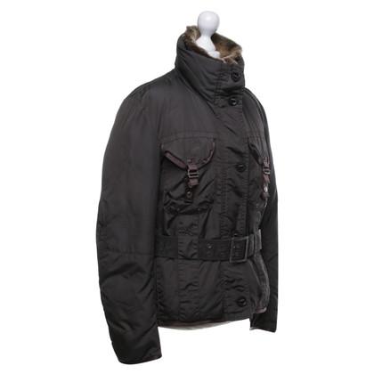 Peuterey Down jacket in dark brown