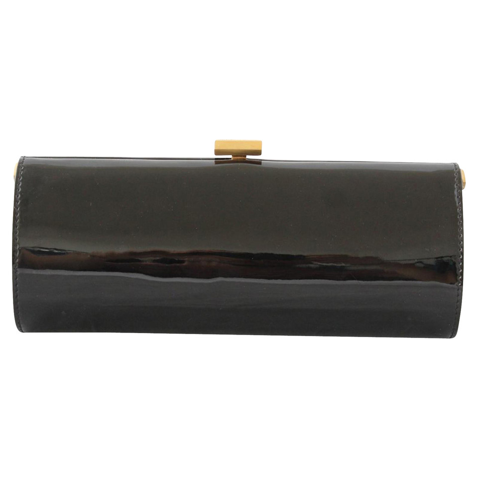Jimmy Choo Patent leather clutch