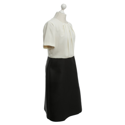 Max Mara Uitlopende jurk in Bicolor