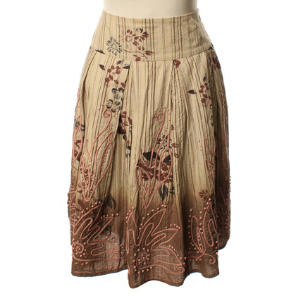 Max Mara skirt with a floral pattern