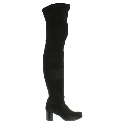 Marc Cain Thigh high boots suede