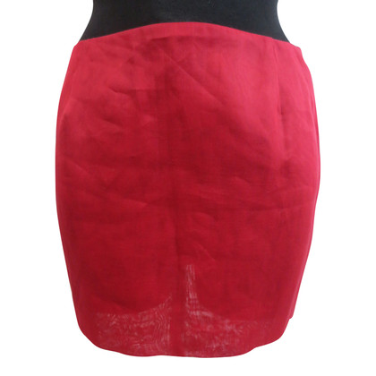 Miu Miu Red mini skirt