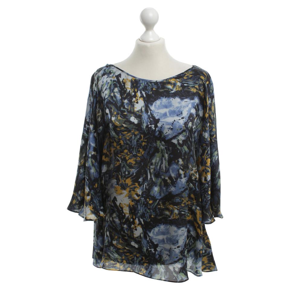 Rachel Zoe Multi-colored blouse in flowing case