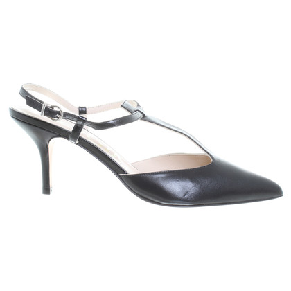 Paco Gil Slingback pumps in zwart