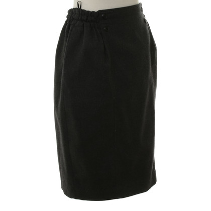 Christian Dior Wool skirt in grey