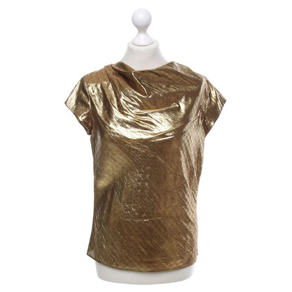 Etro Gold colored top